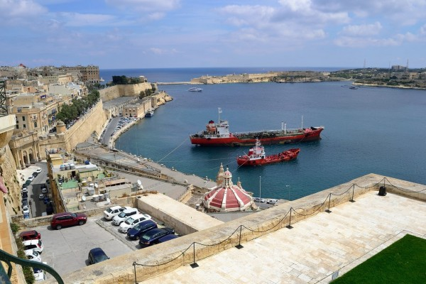 Grand Harbour desde La Valetta