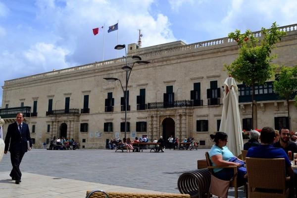Palacio de Gobierno, La Valetta