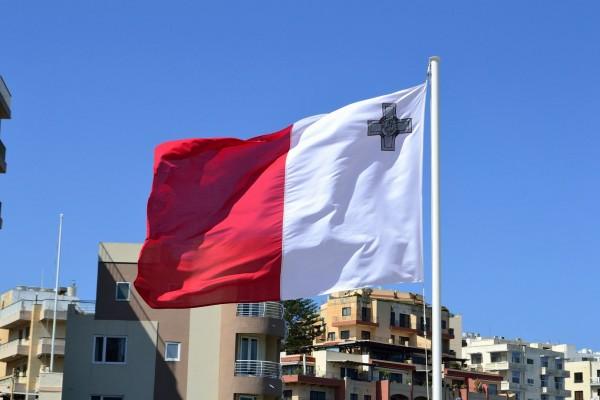 La bandera de Malta