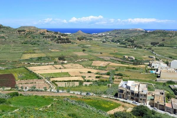 Paisaje rural de la isla de Gozo