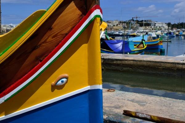 Marsaxlokk, el precioso pueblo pesquero maltés