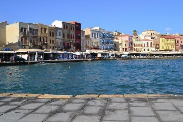 El puerto veneciano de Hania