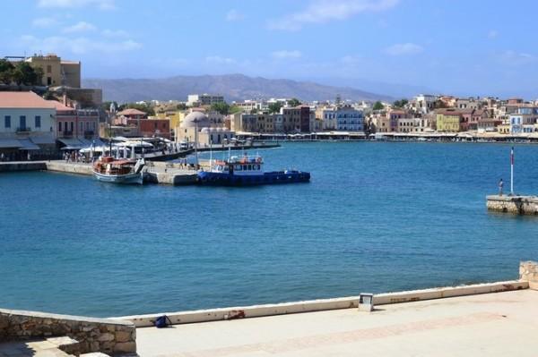 El puerto de Hania