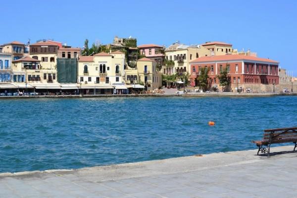 El pintoresco puerto de Hania