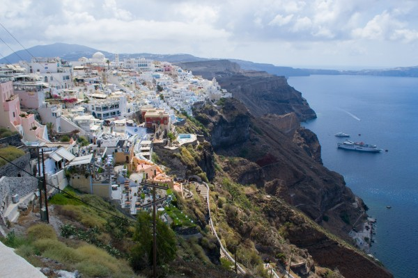 Fira, la capital de Santorini