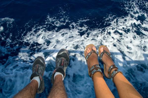 El paseo en barco, inmejorable forma de disfrutar Santorini