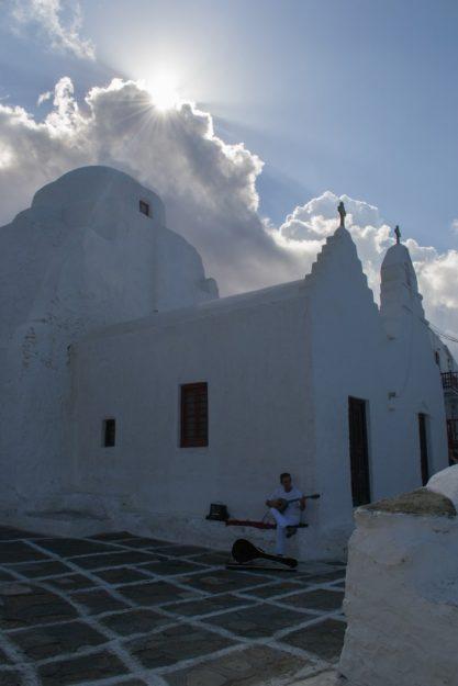 La iglesia Panagia Paraportiani