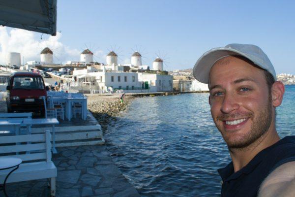 Little Venice y los molinos de Mykonos