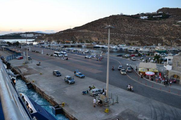 Agios Stefanos, el puerto de Mykonos