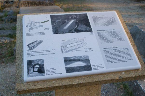 El Estadio sede de los primeros Juegos Olímpicos, en Olympia
