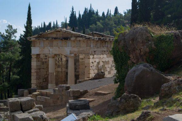 Tesoro Ateniense en Delfos