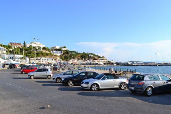 Puerto de Rafina, a 30km de Atenas