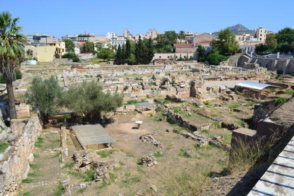 Kerameikos, el antiguo cementerio ateniense