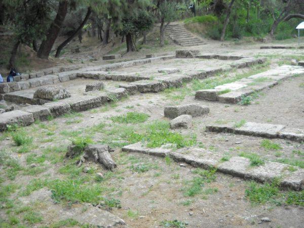 Restos de la Academia de Platón